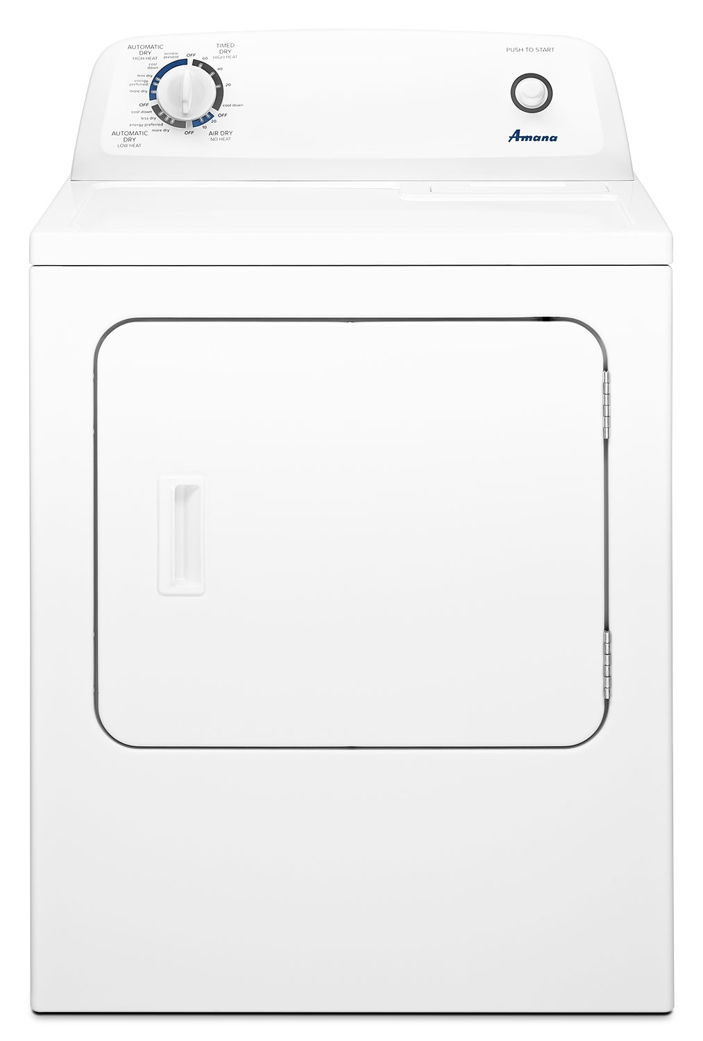 Amana 6.5 Cu. Ft. Gas Dryer with Automatic Dryness Control – NGD4655EW