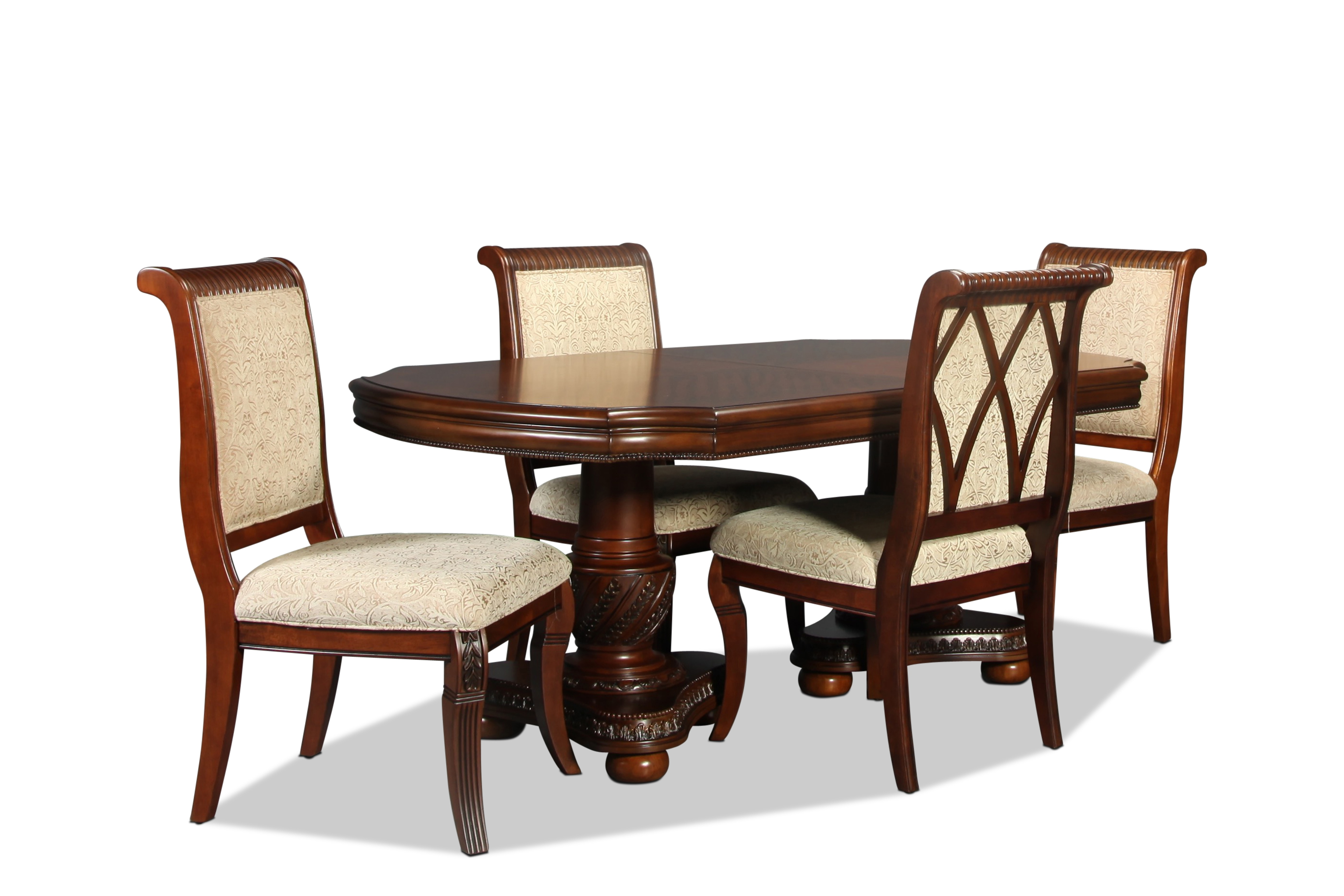 Florence Table and 4 Side Chairs
