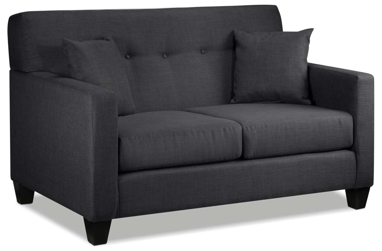 Grant Loveseat - Charcoal