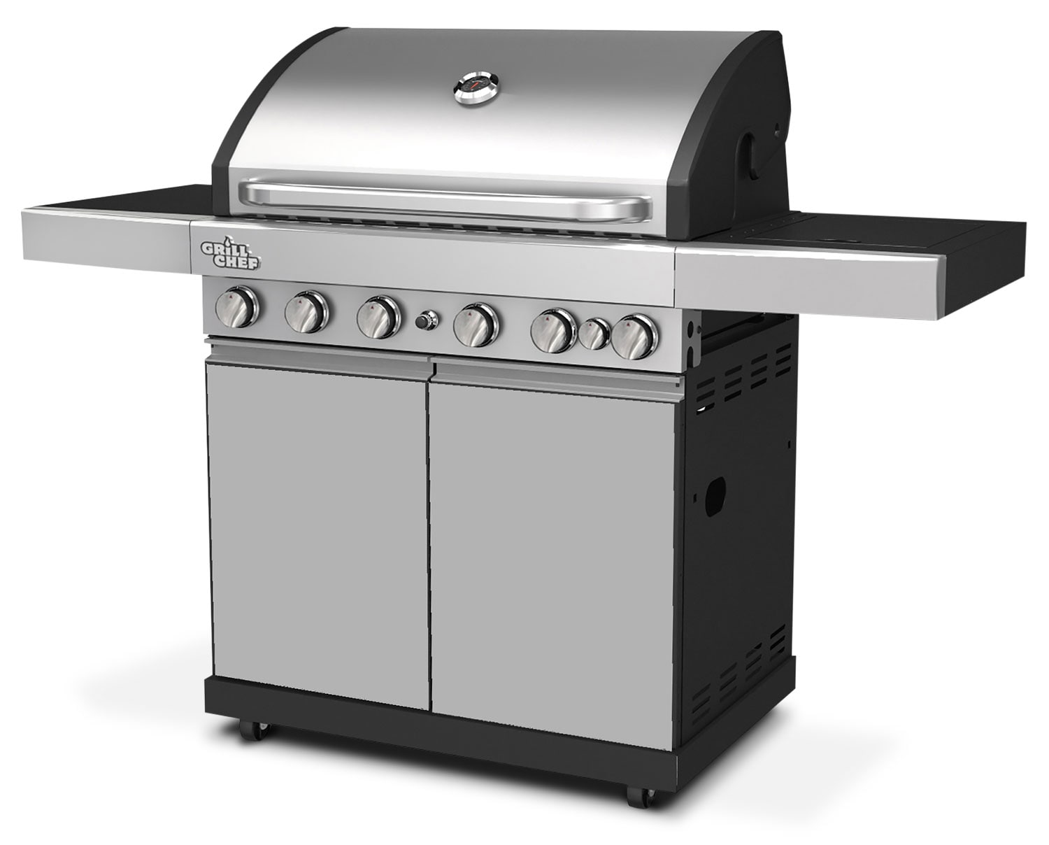 Grill Chef 70,500 BTU Dual-Fuel Barbeque