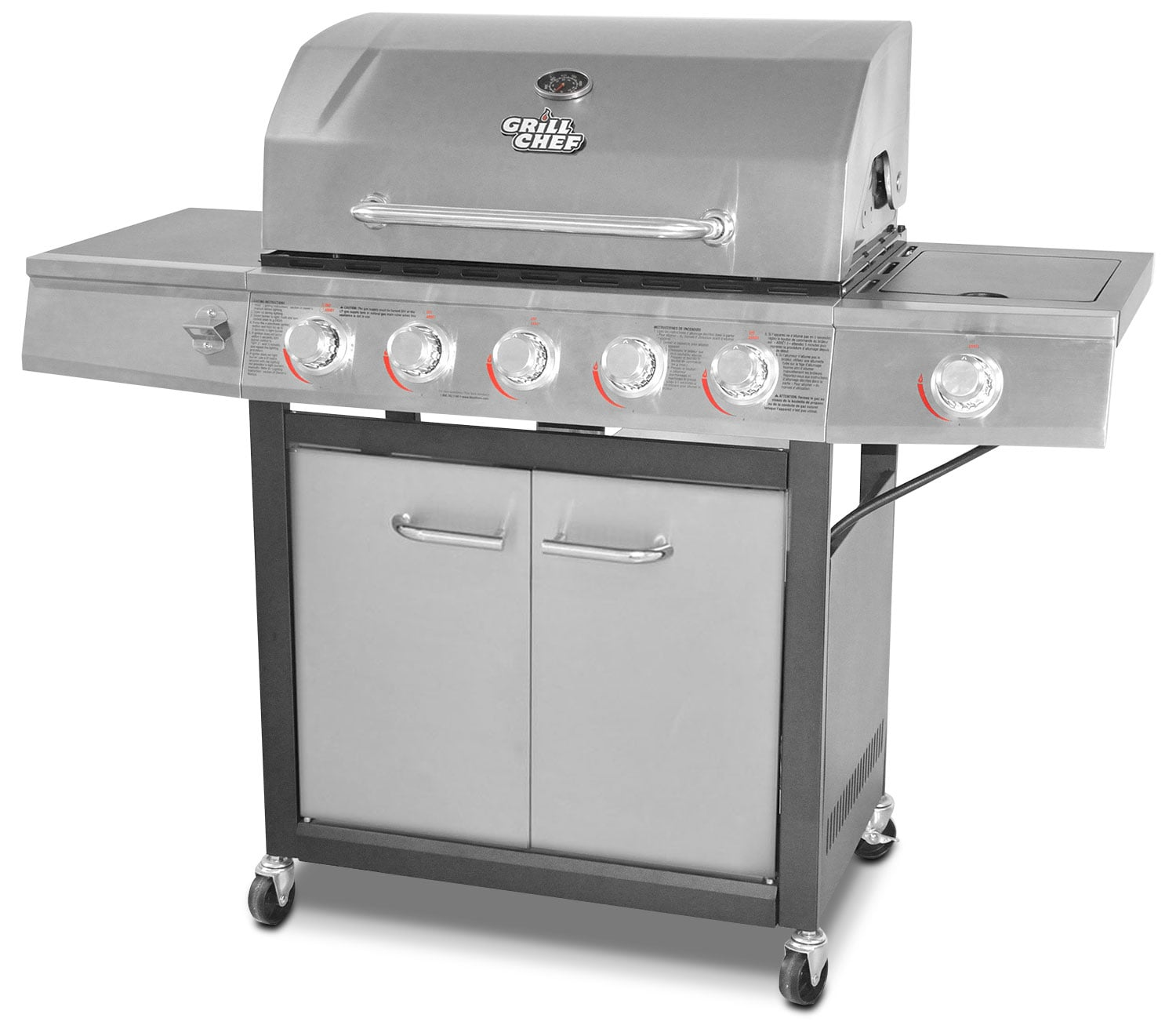Grill Chef 72,000 BTU Dual-Fuel Barbeque