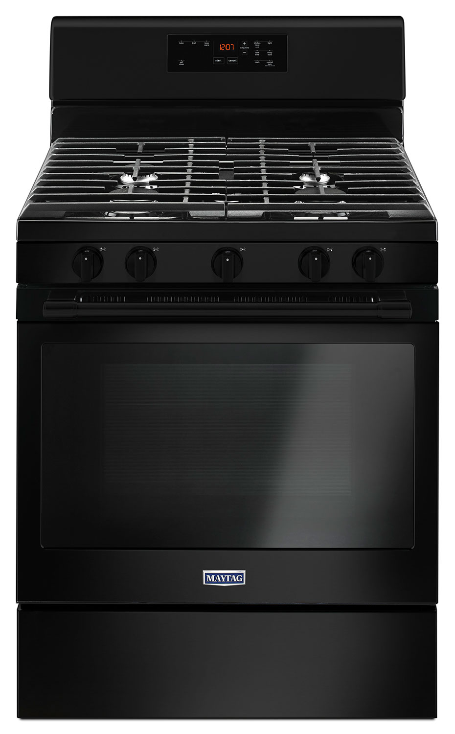 Cooking Products - Maytag 5.0 Cu. Ft. Freestanding Gas Range with Oval Burner – MGR6600FB