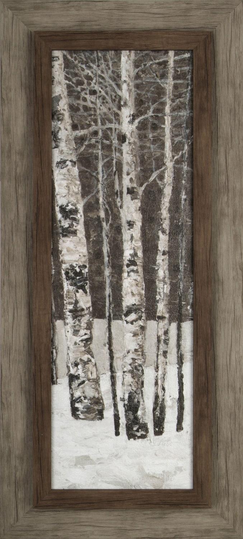 "Tree in Winter I – 17"" x 37"""