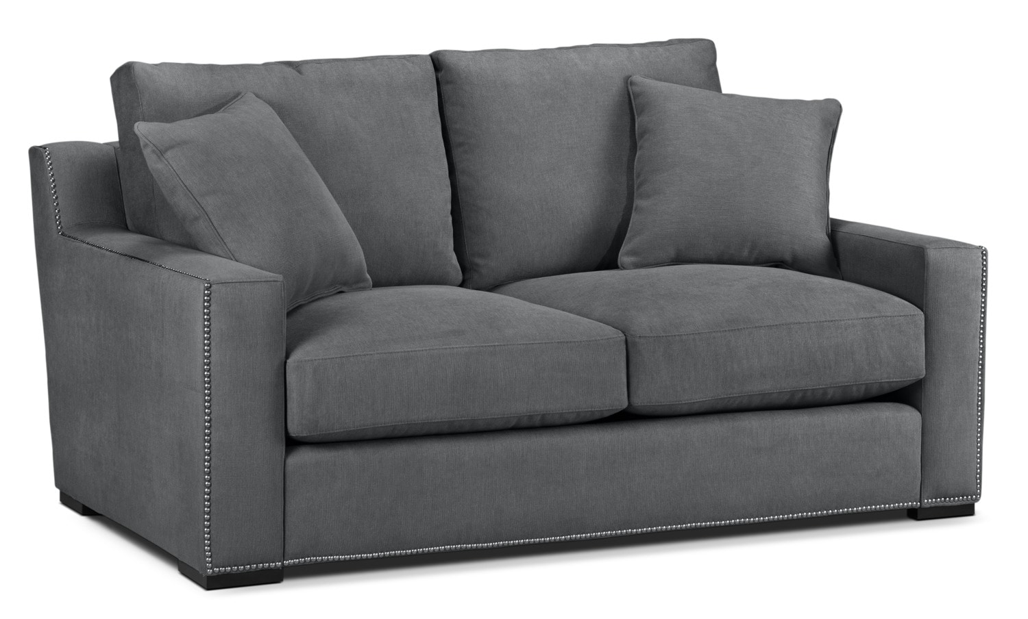 Ethan Loveseat - Charcoal