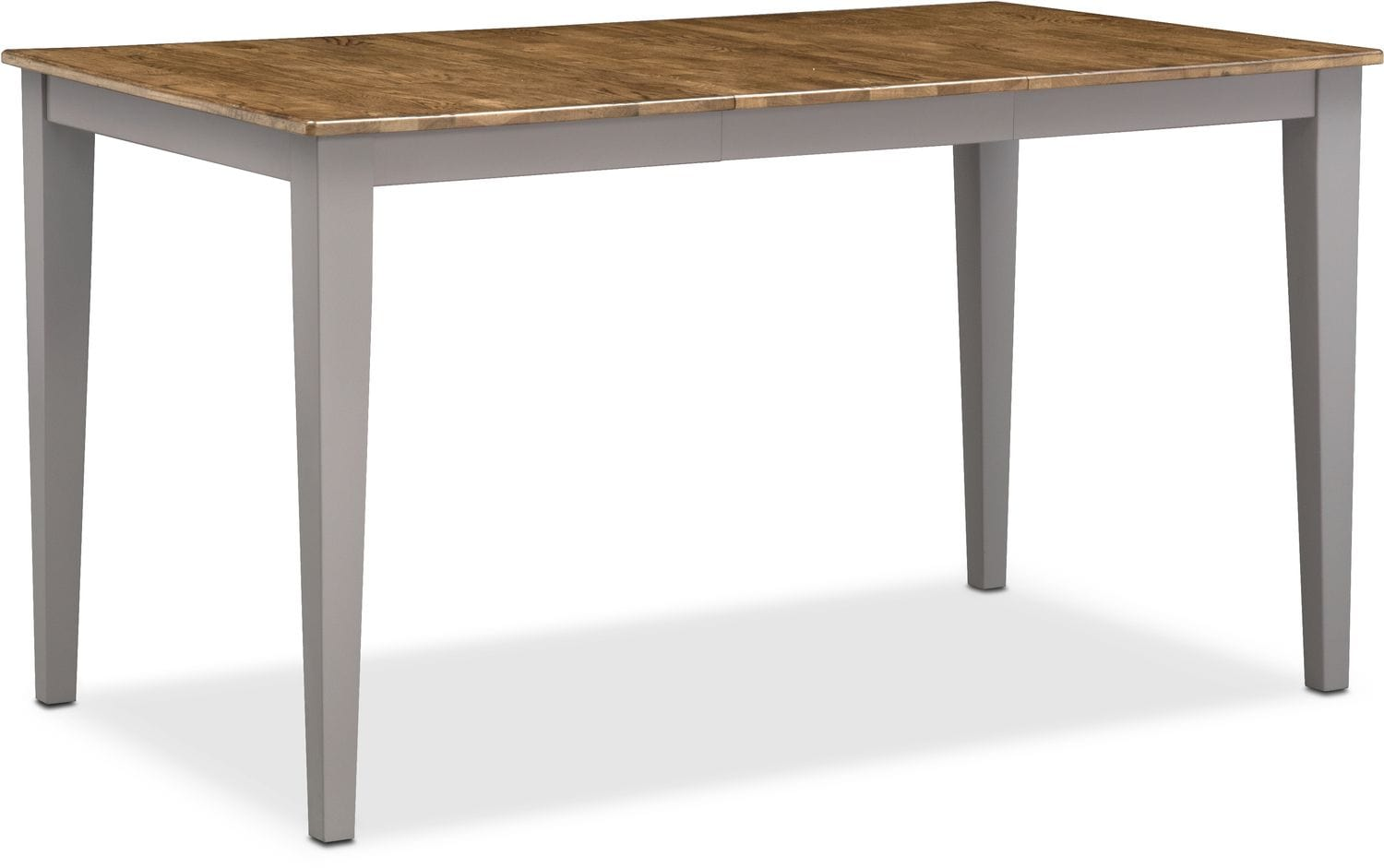 Nantucket Counter Height Table Oak and Gray American  : 506096 from www.americansignaturefurniture.com size 1500 x 941 jpeg 92kB