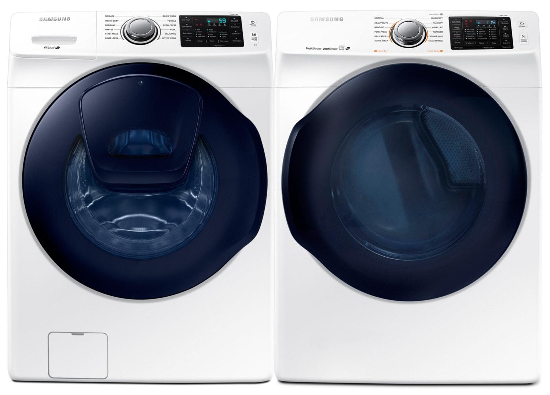 Samsung Laundry - WF45K6200AW/A2 / DV45K6200EW/AC
