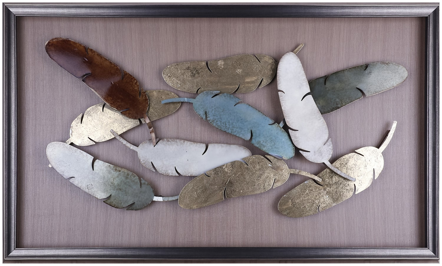 "Feathers – 50.25"" x 29.75"""