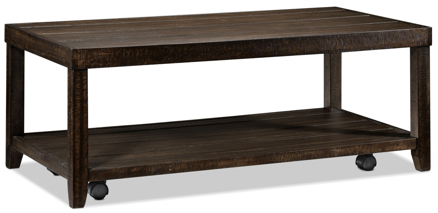 Accent and Occasional Furniture - Preston Coffee Table - Rustic Brown