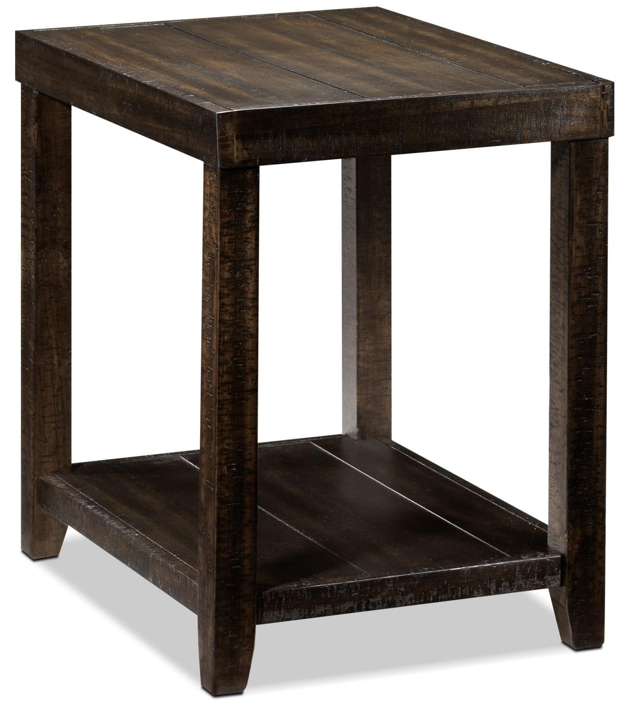 Décoratif et Occasionnel - Preston Table de bout - brun rustique