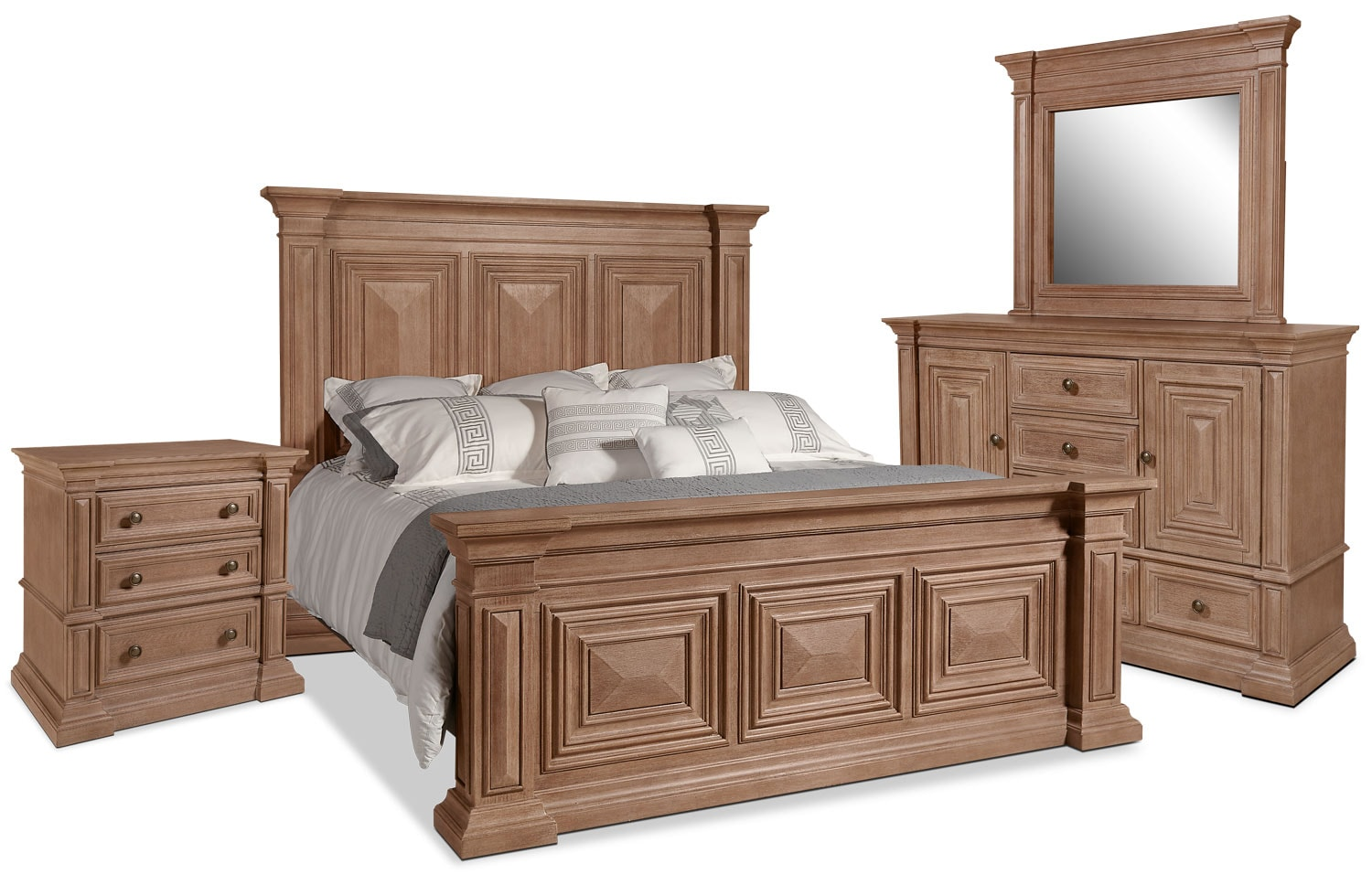 Sedona 6-Piece King Bedroom Package