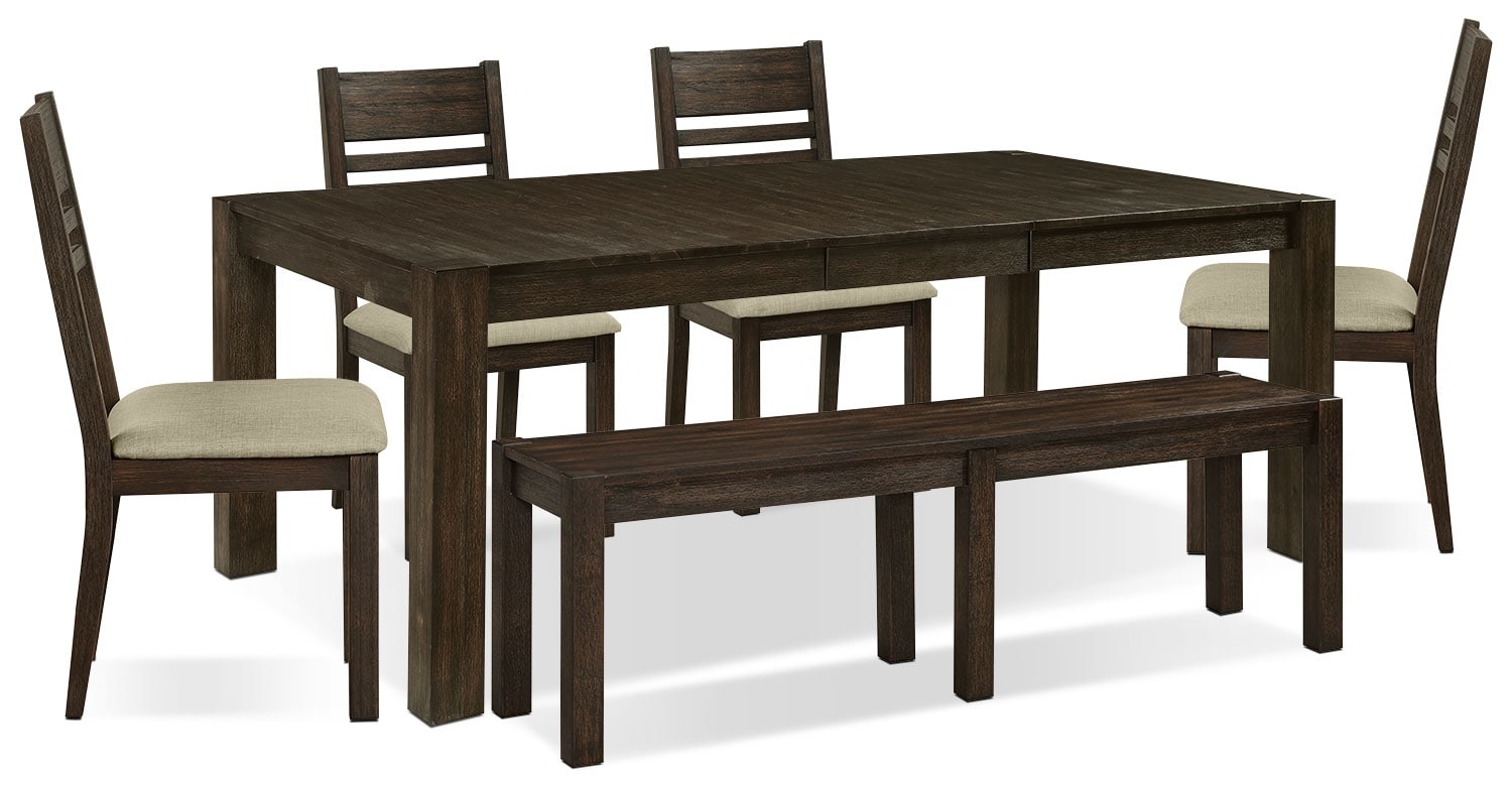 Dining Room Furniture - Jade 6-Piece Dining Package