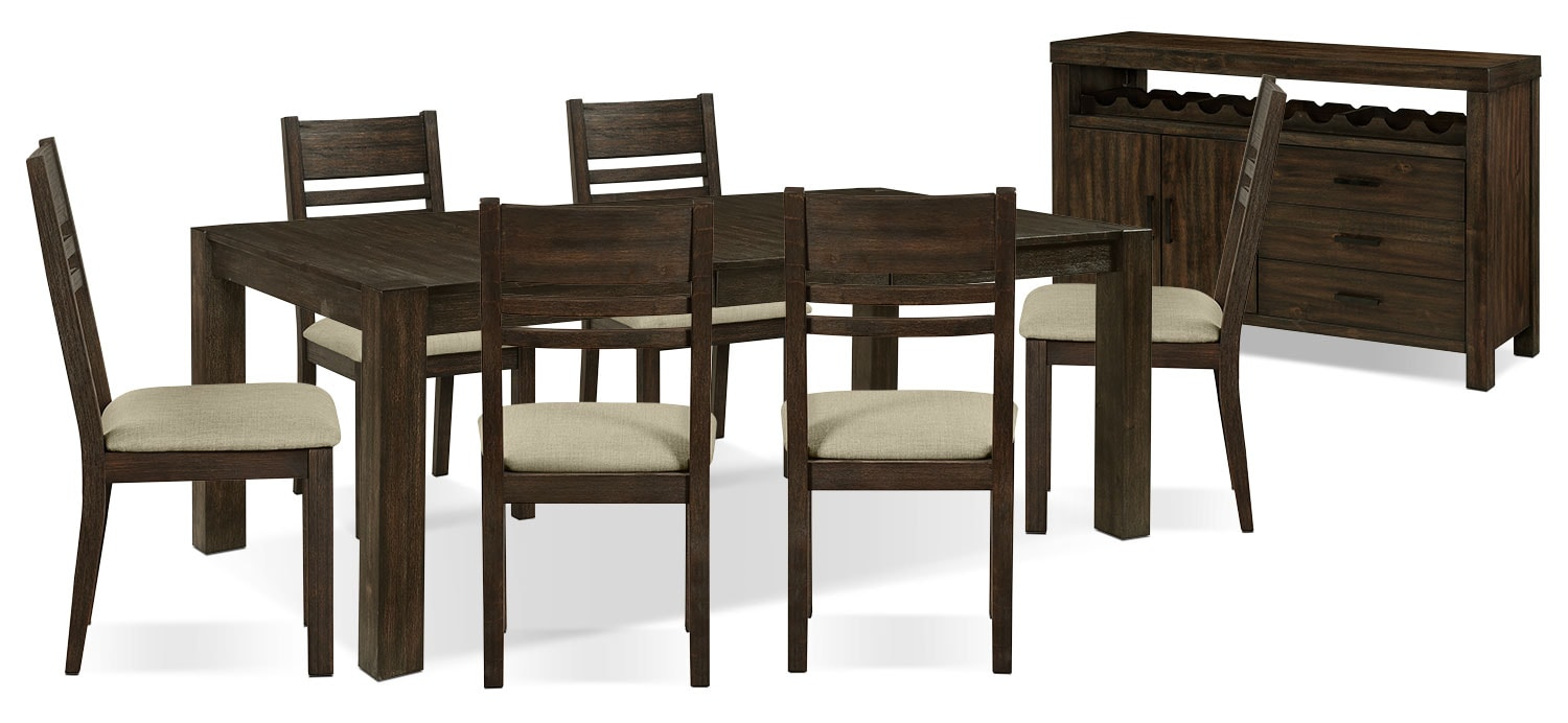 Dining Room Furniture - Jade 8-Piece Dining Package
