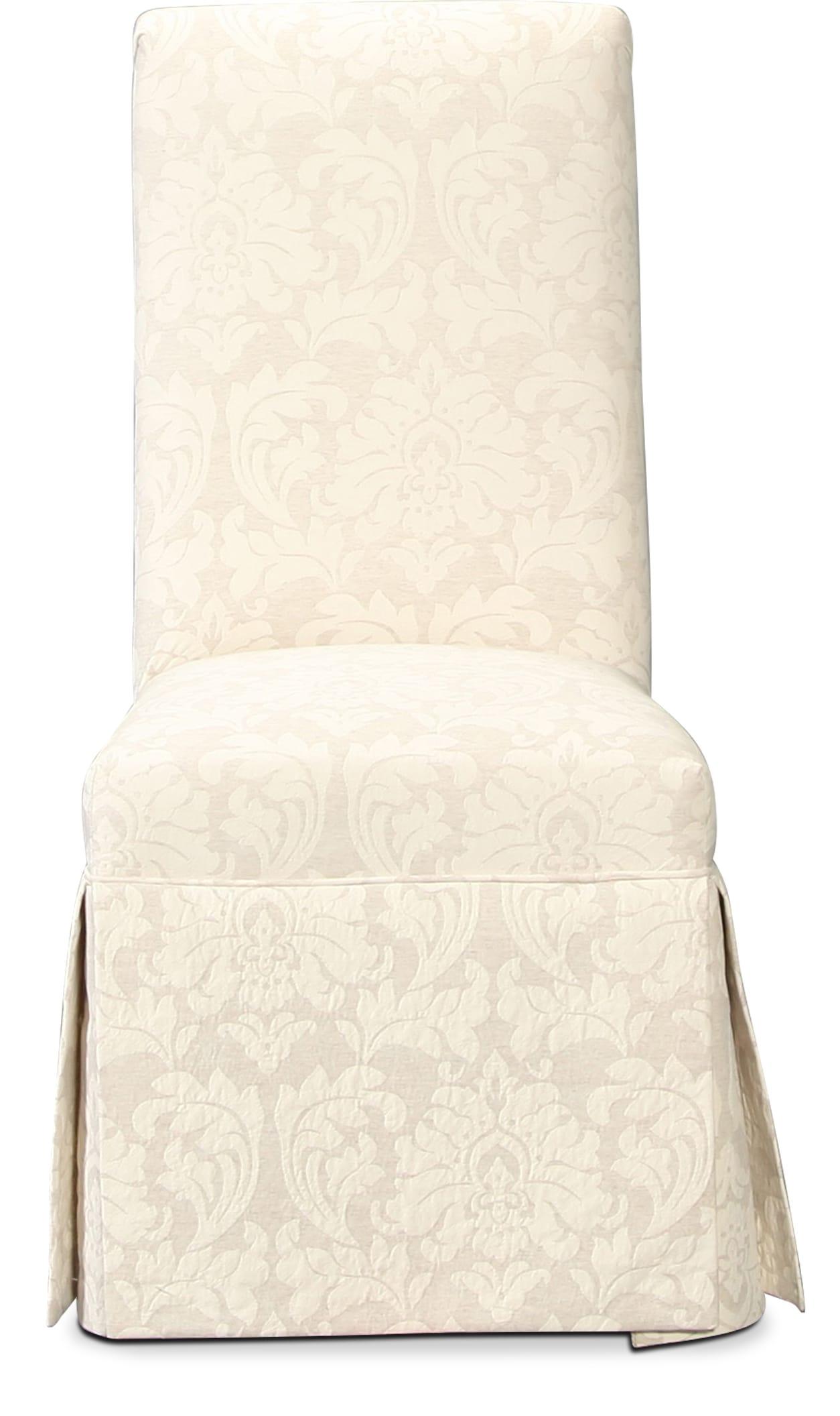 Beri Parson Chair - Cream