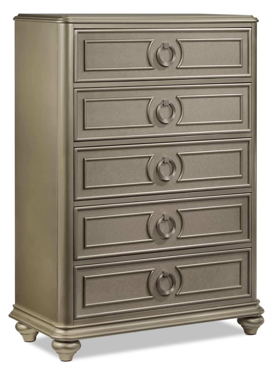Bedroom Furniture - Dynasty Chest - Gold
