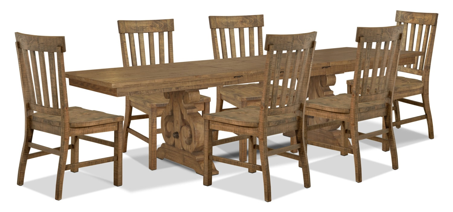 Dining Room Furniture - Keswick 7-Piece Dining Package