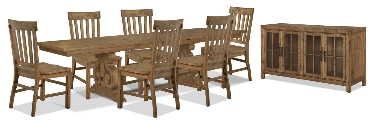 Keswick 8-Piece Dining Package
