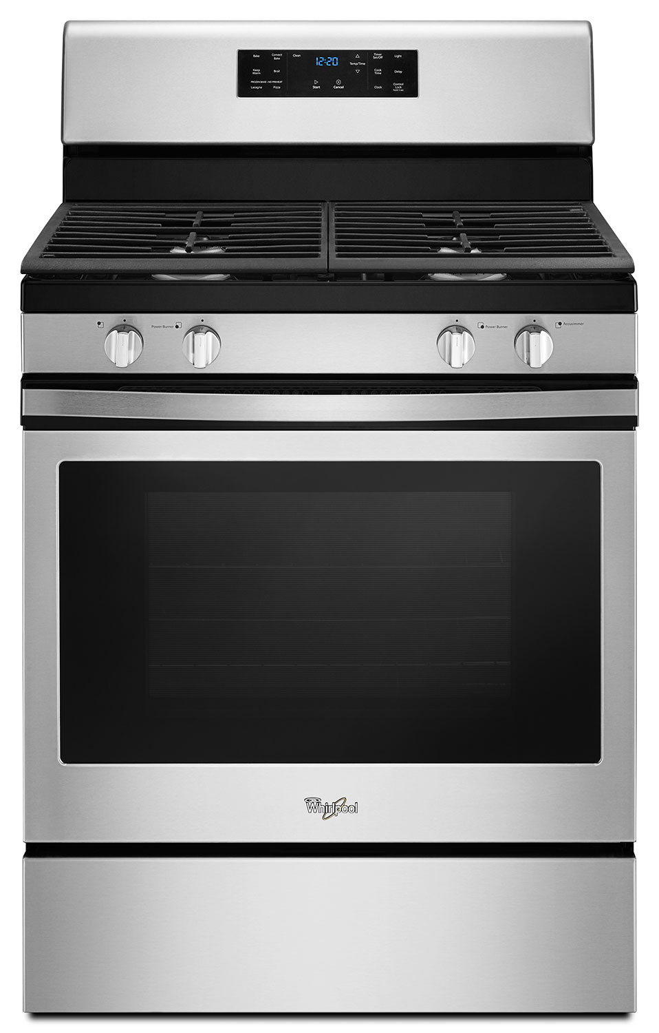 Whirlpool® 5.0 Cu. Ft. Front Control Gas Range with Fan Convection Cooking