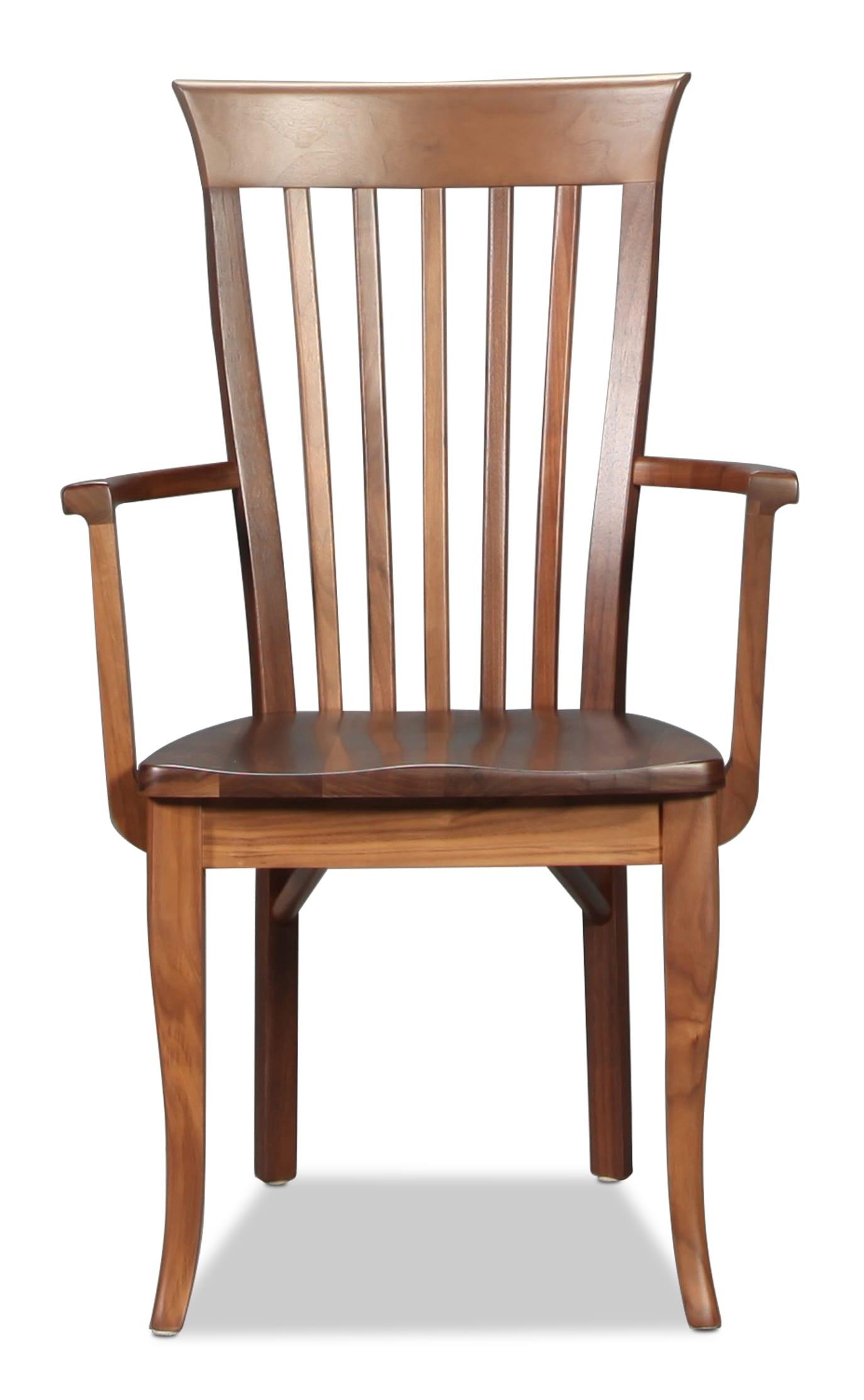 Eden Hill Arm Chair - Walnut