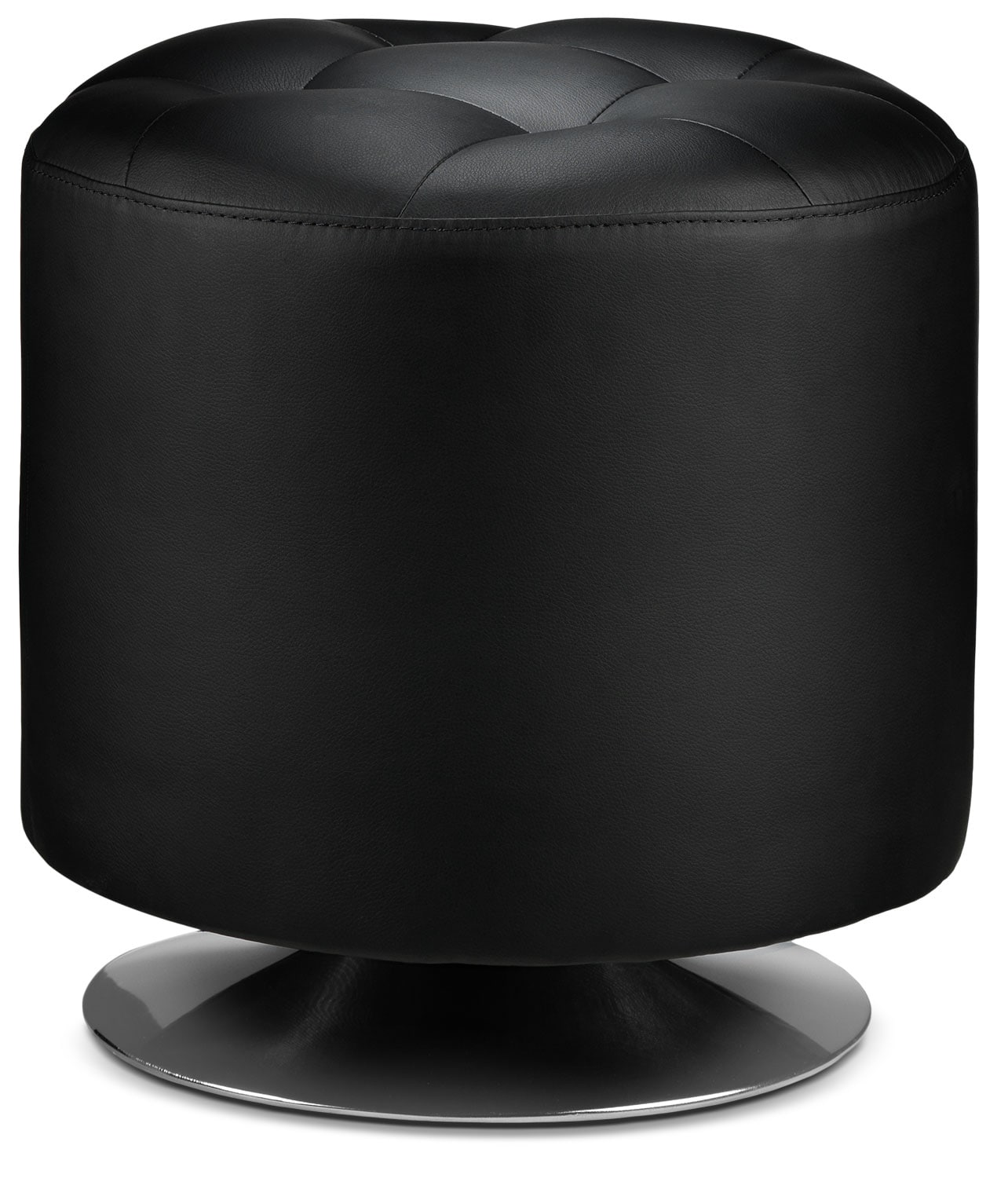 Accent and Occasional Furniture - Dion Ottoman - Black