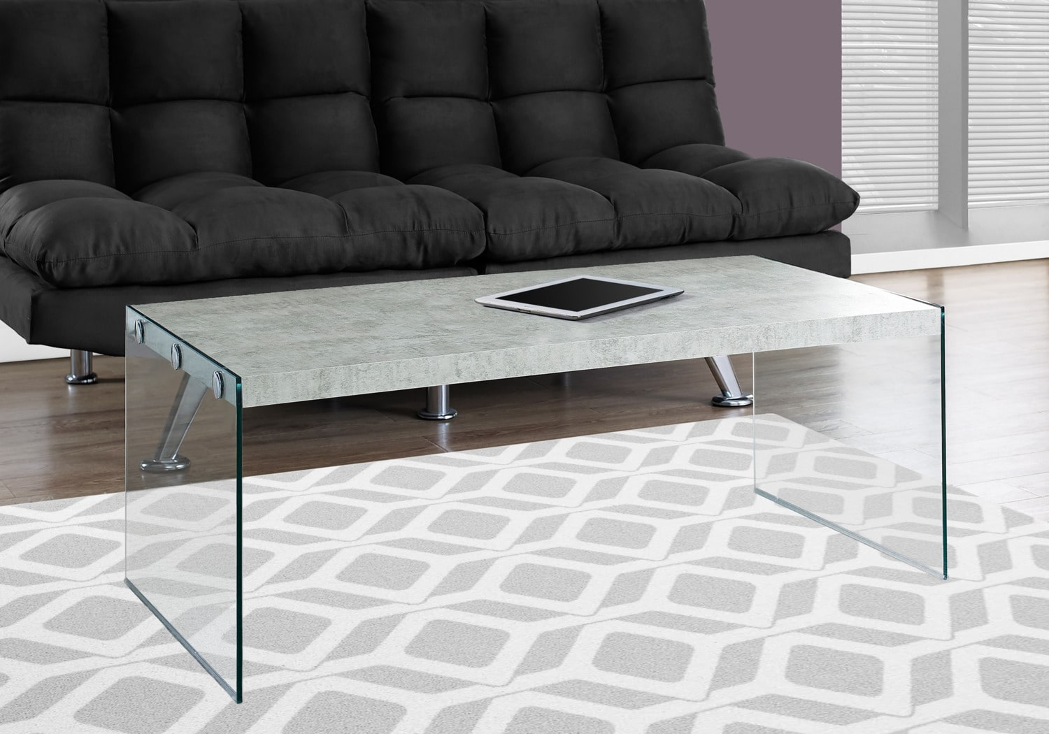 Online Only - Sargent Coffee Table - Cement