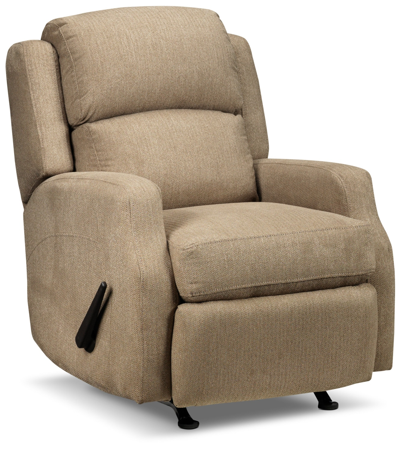 Woodsmoke Rocker Recliner - Tan