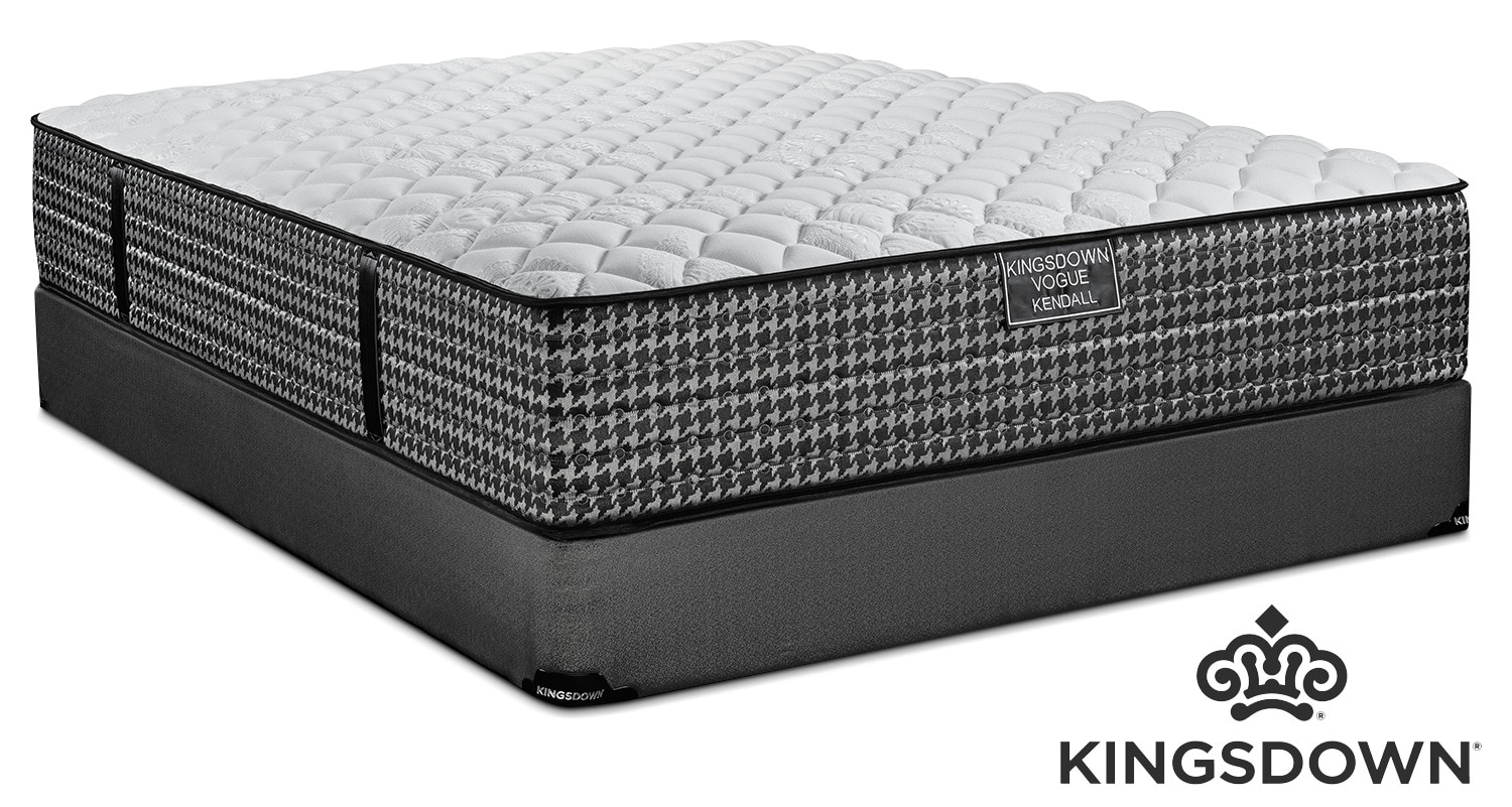Kingsdown Kendall Firm Queen Mattress and Boxspring Set