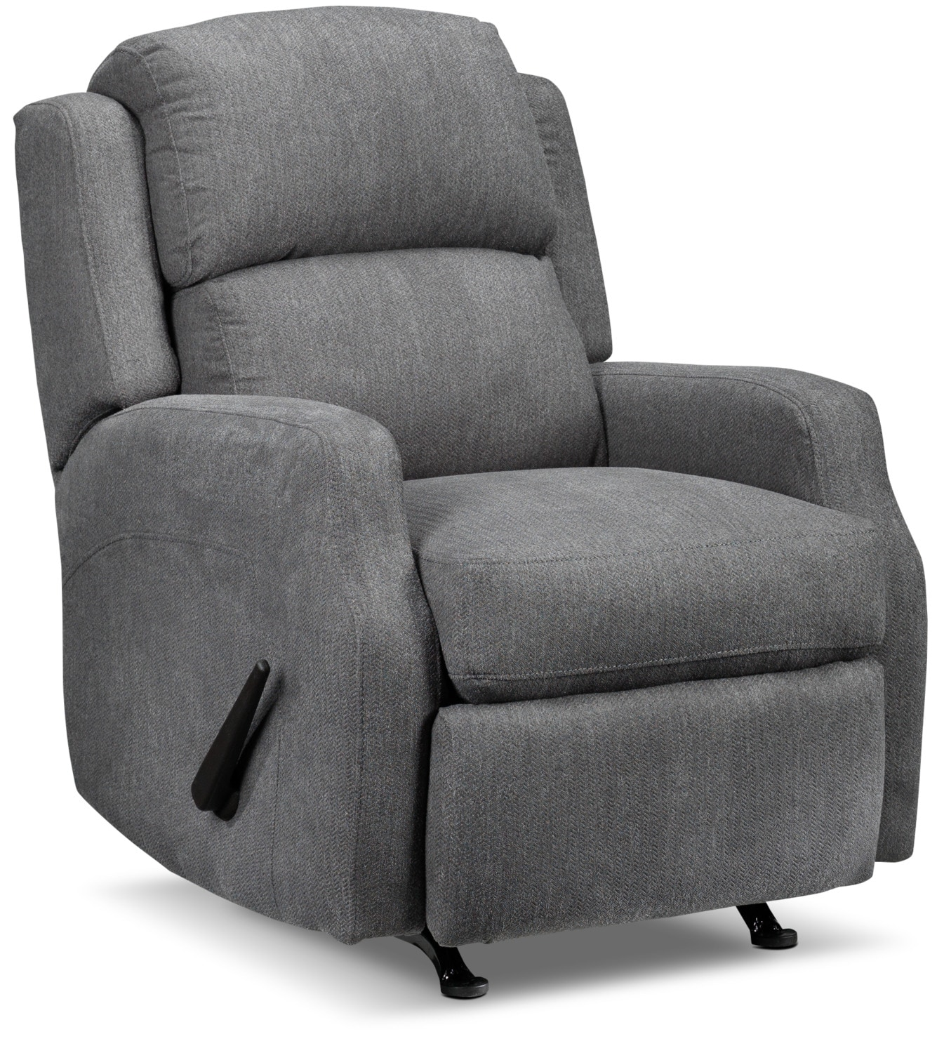 Woodsmoke Rocker Recliner - Dark Grey