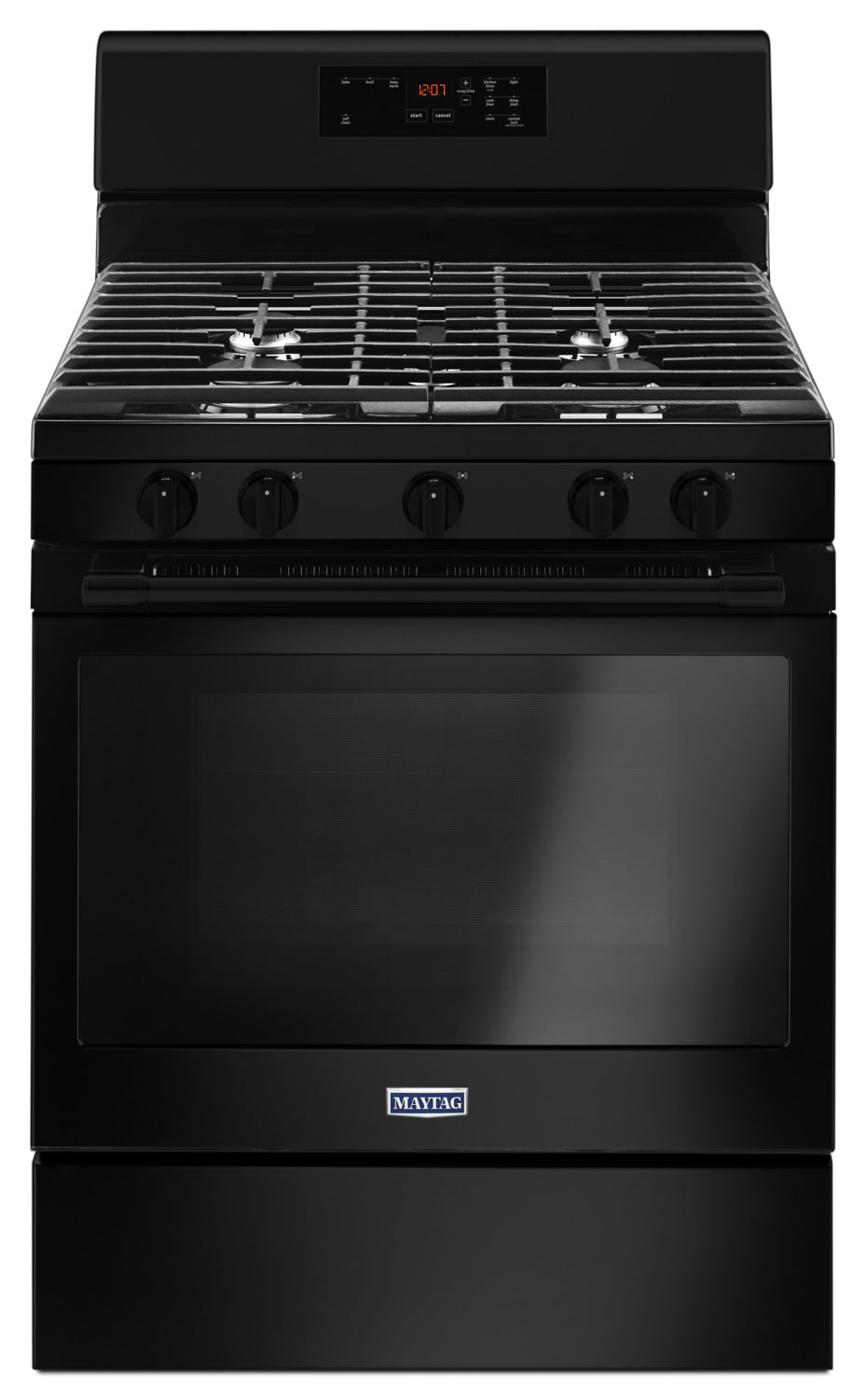 Maytag Black Freestanding Gas Range (5.0 Cu. Ft.) - MGR6600FB