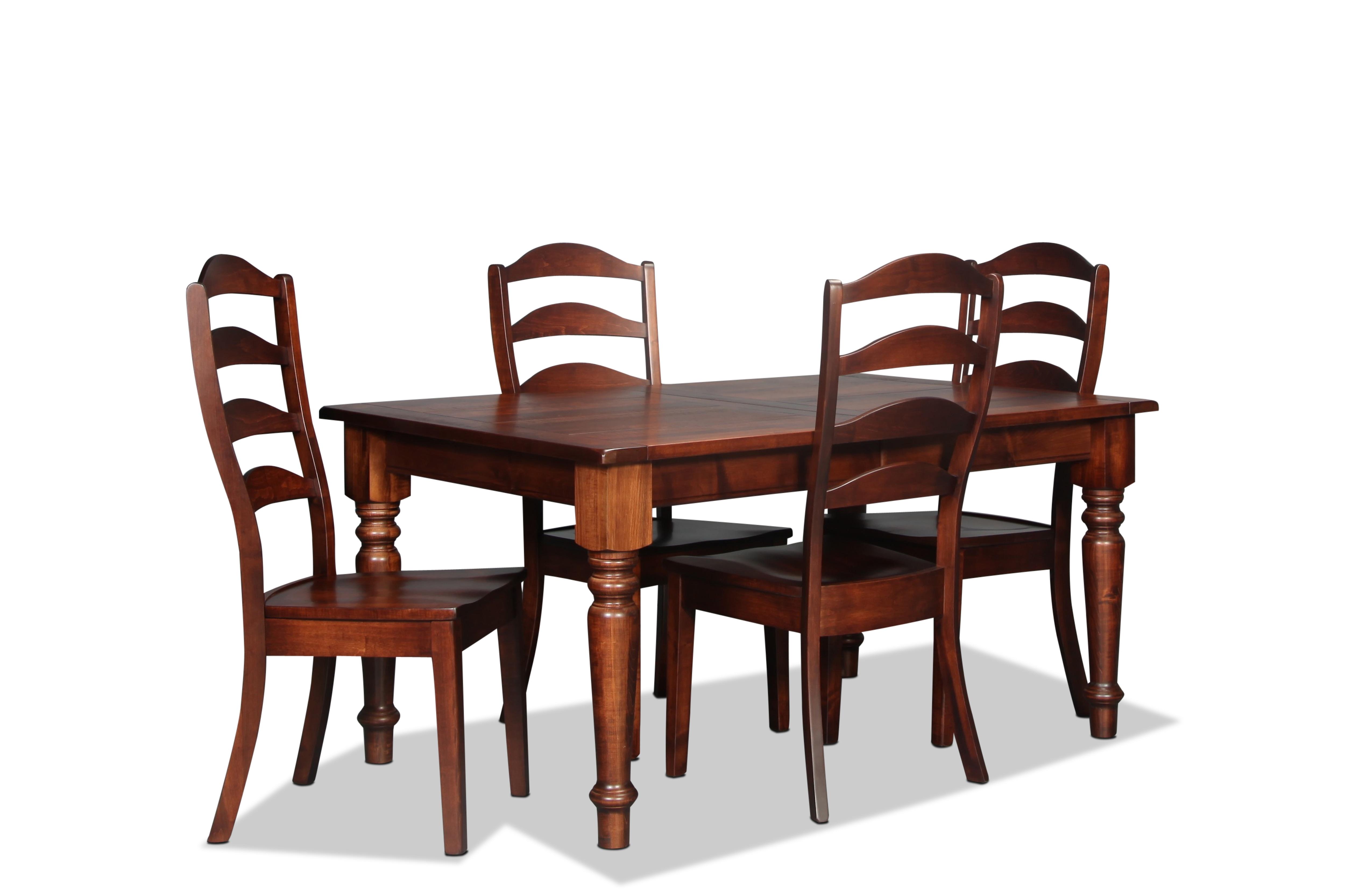 Essex 5 Piece Dining - Auburn
