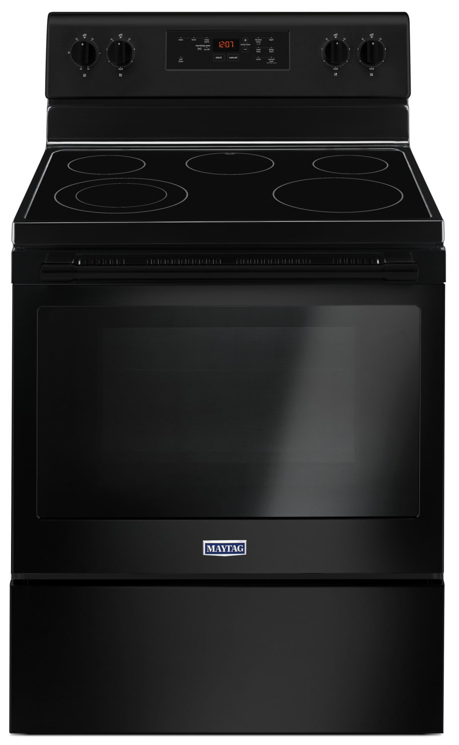 Maytag Black Freestanding Electric Range - (5.3 Cu. Ft.) - YMER6600FB