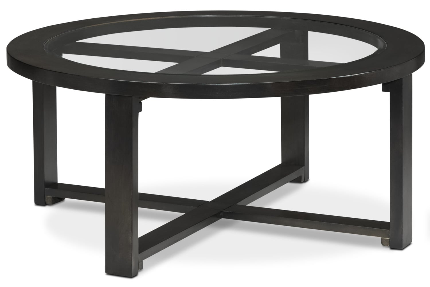 Emma Coffee Table W Four Ottomans Charcoal Grey Leon 39 S
