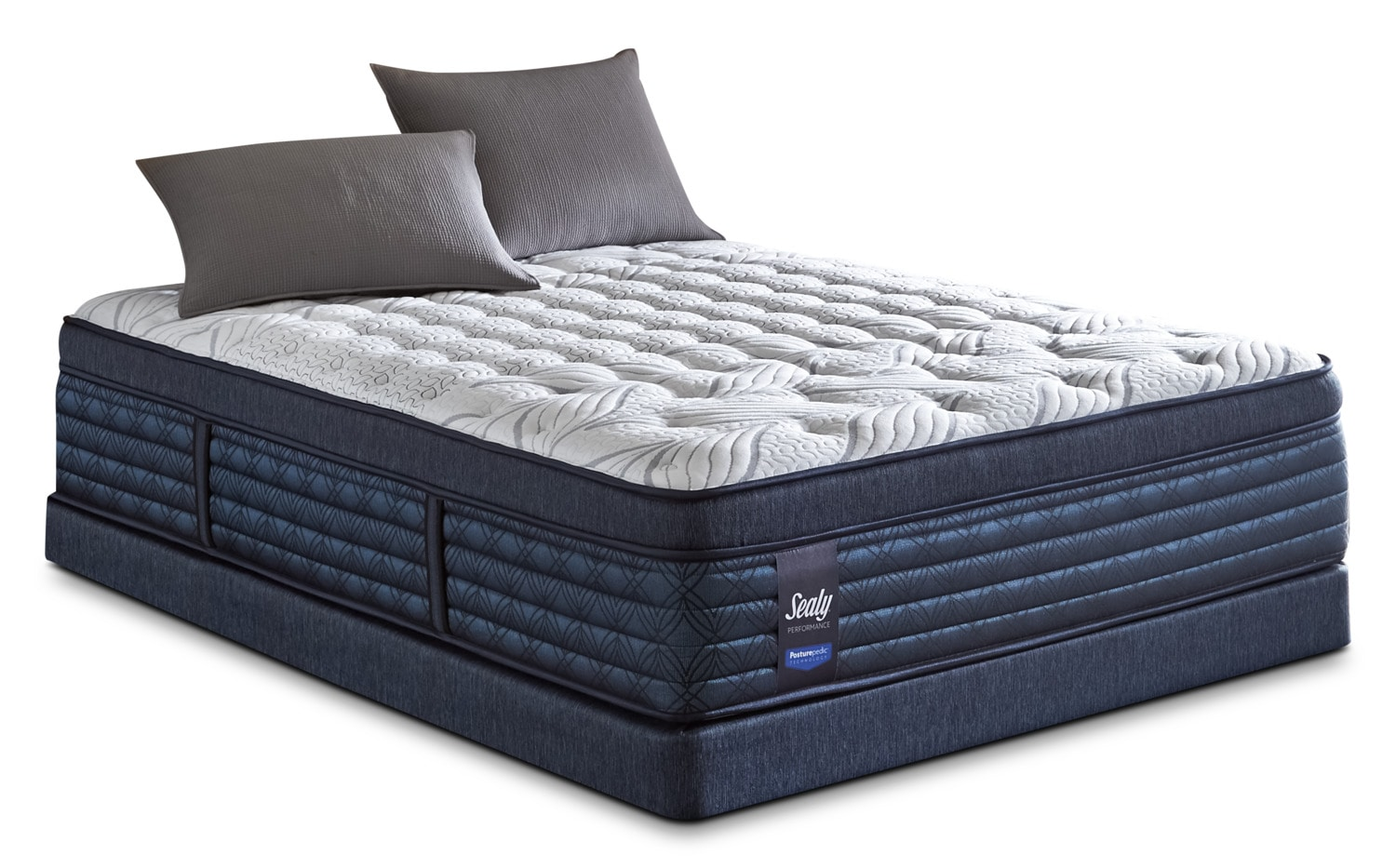 Sealy Posturepedic ProBack Hockenheim Euro-Top Firm Queen Mattress Set