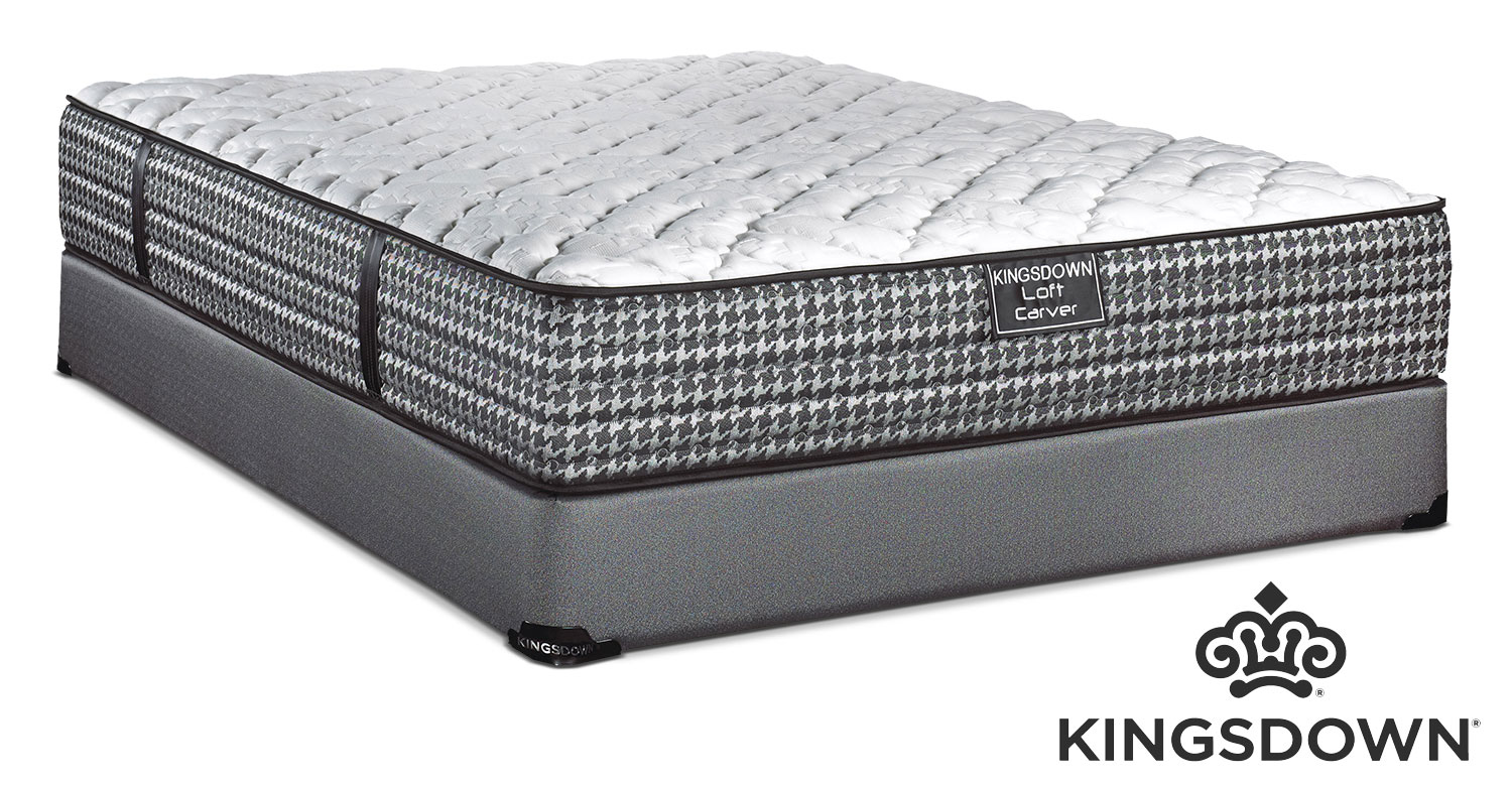 Mattresses and Bedding - Kingsdown Carver Full Mattress/Boxspring Set