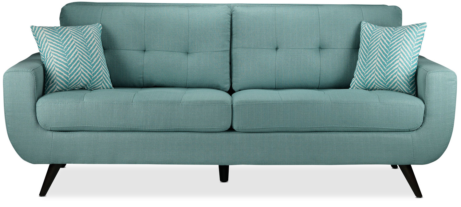 Teal Furniture julian sofa - teal | leon's