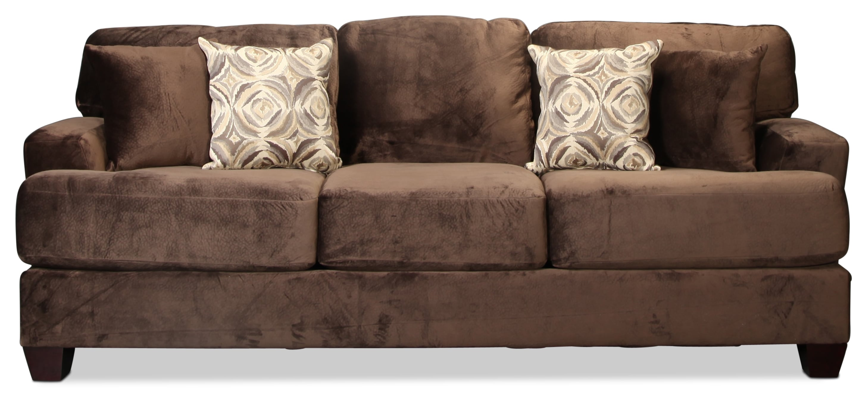 Montclaire Sofa - Chocolate