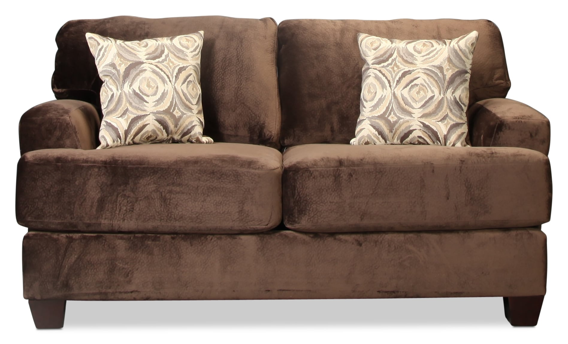 Montclaire Loveseat - Chocolate