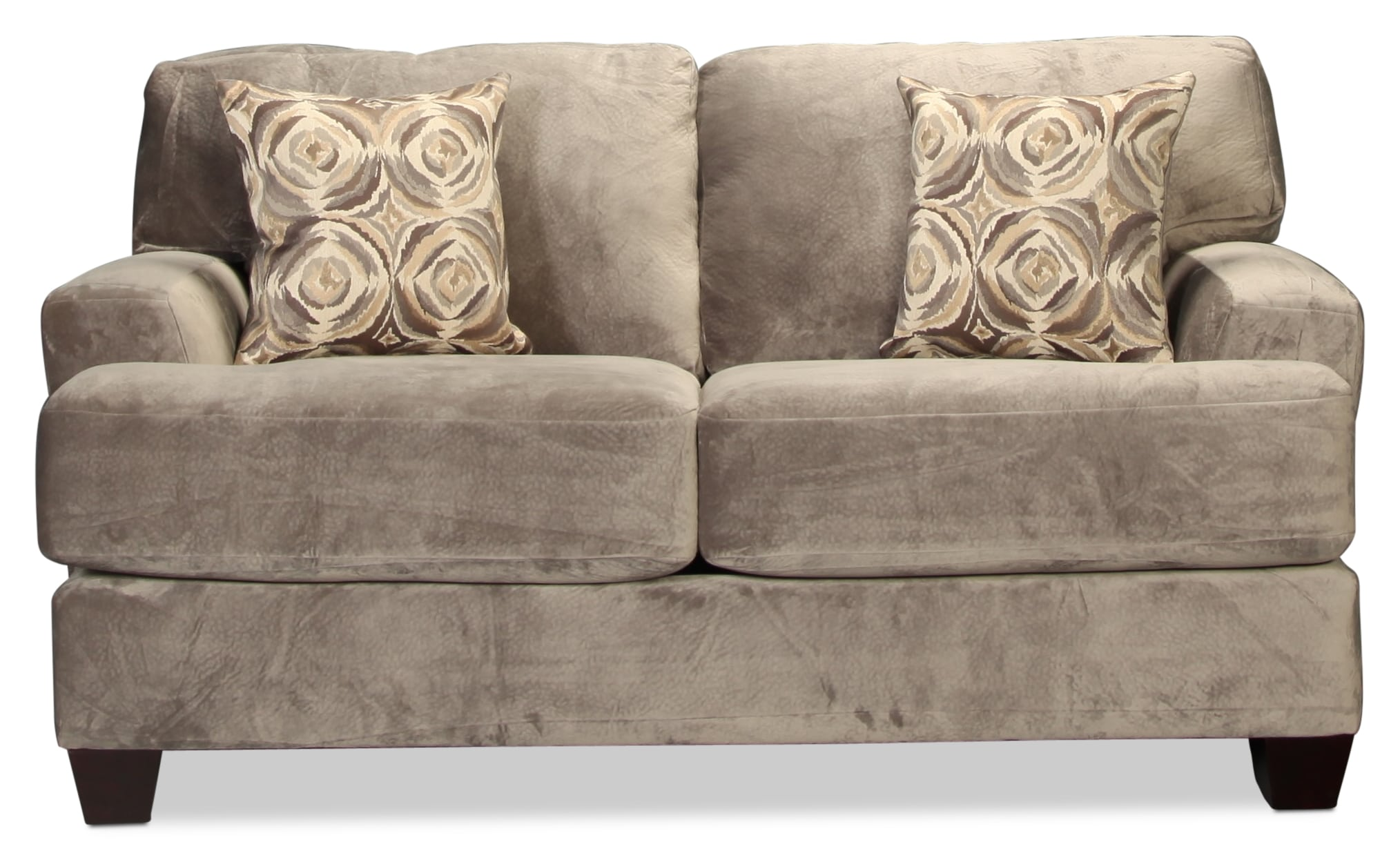 Montclaire Loveseat - Charcoal
