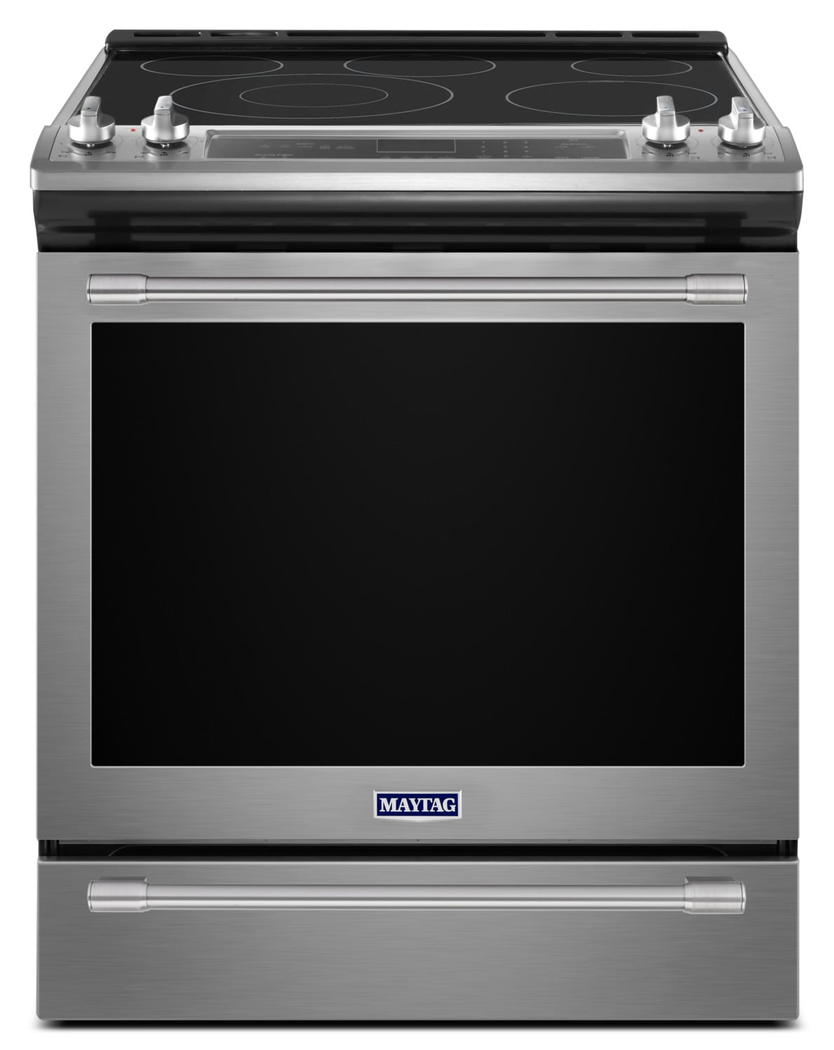 Maytag Stainless Steel Slide-In Electric Convection Range (6.4 Cu. Ft.) - YMES8800FZ