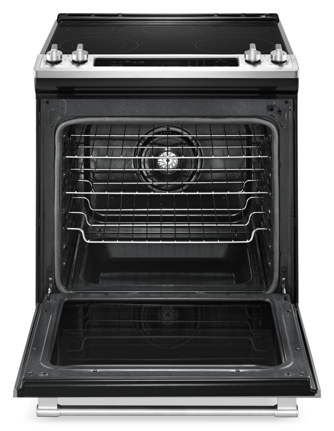 Maytag Stainless Steel Slide In Electric Convection Range