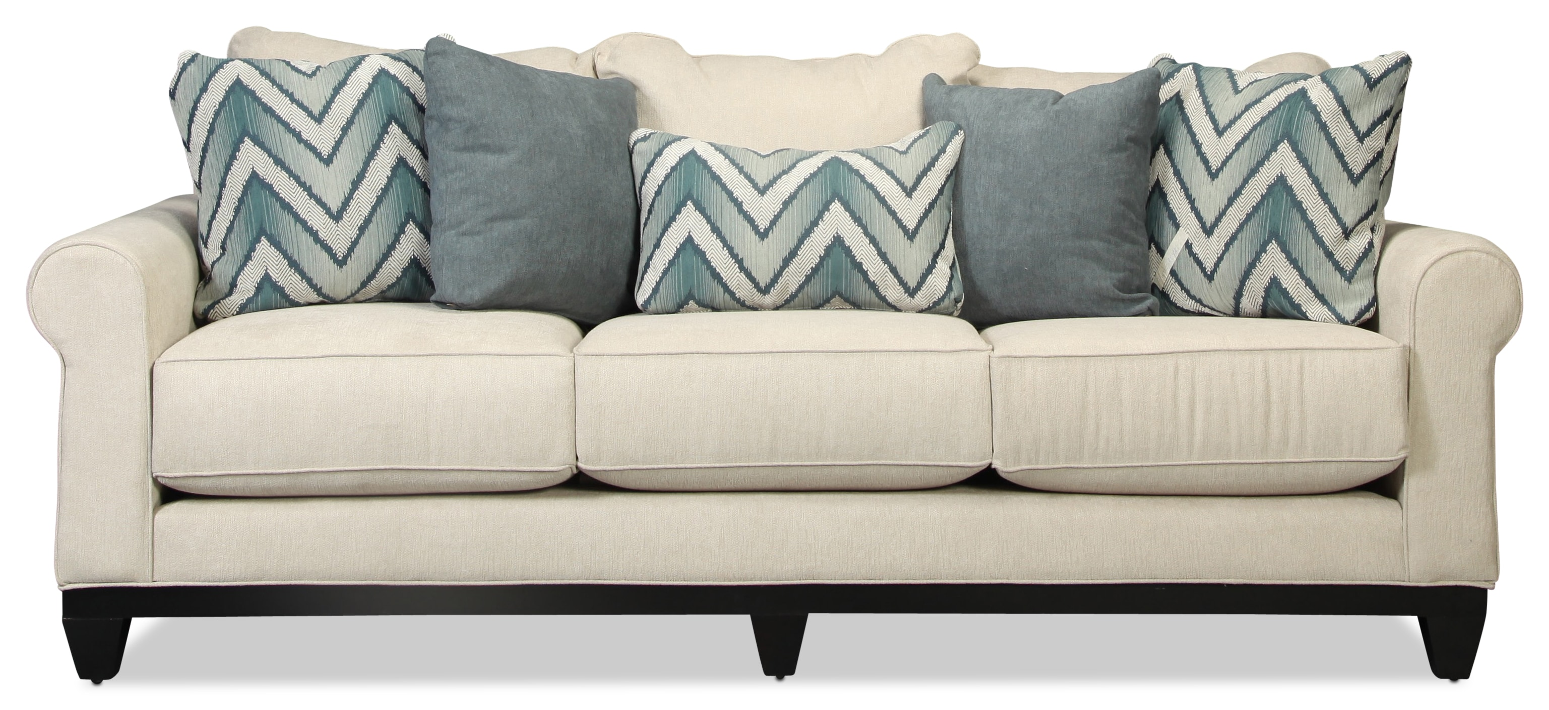 Sunset Beach Sofa - Flax