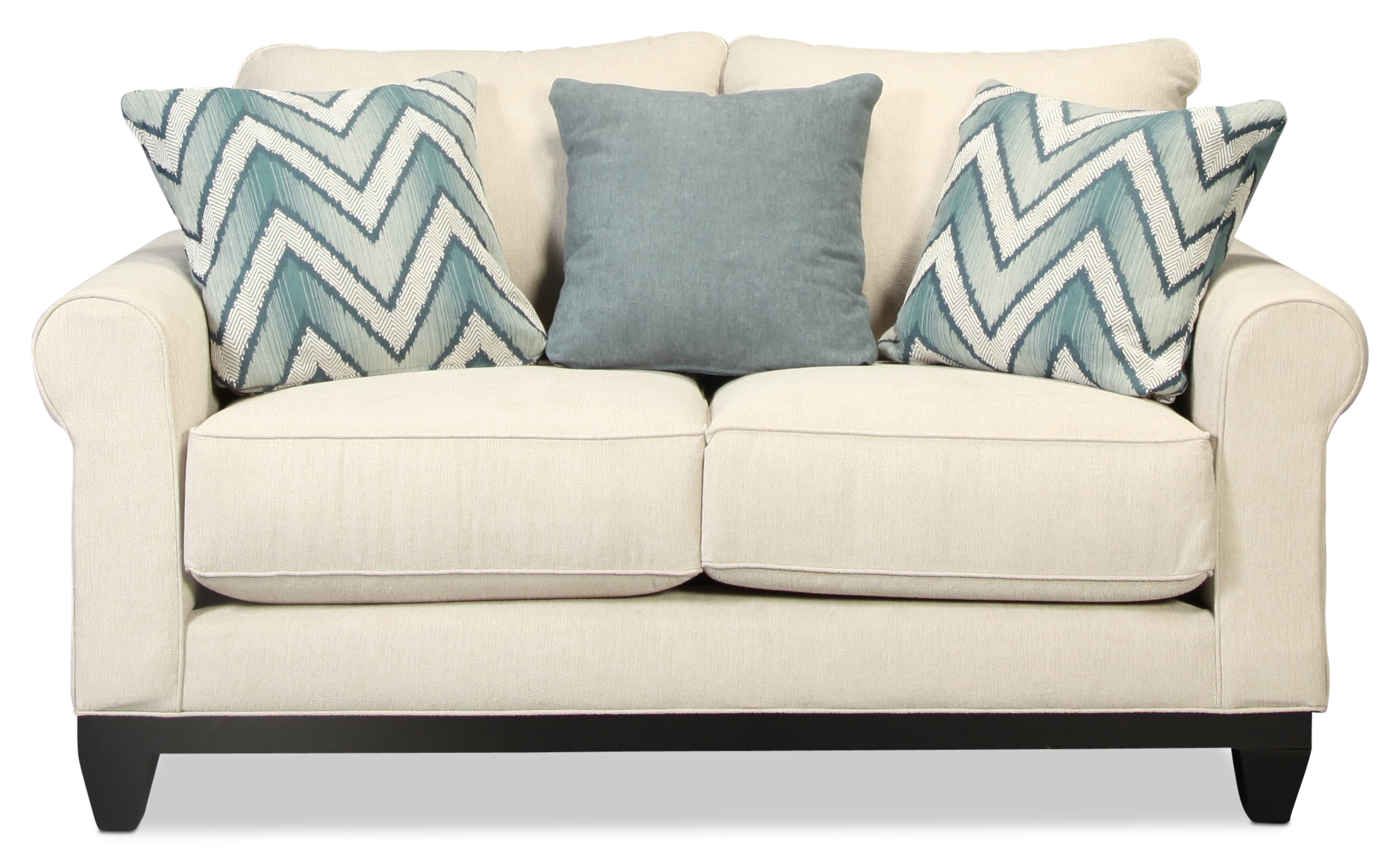 Sunset Beach Loveseat - Flax