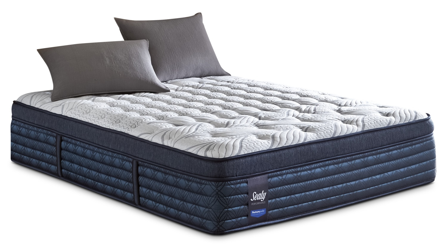 Mattresses and Bedding - Sealy Posturepedic ProBack Hockenheim Euro-Top Firm Full Mattress