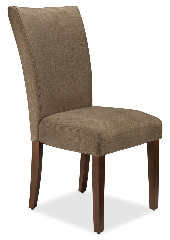Zee Side Chair - Dark Beige