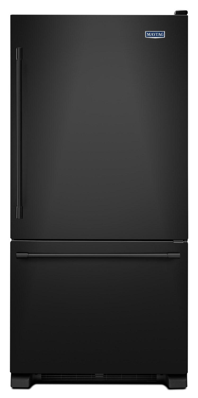 Maytag Black Bottom-Freezer Refrigerator (22.1 Cu. Ft.) - MBF2258FEB