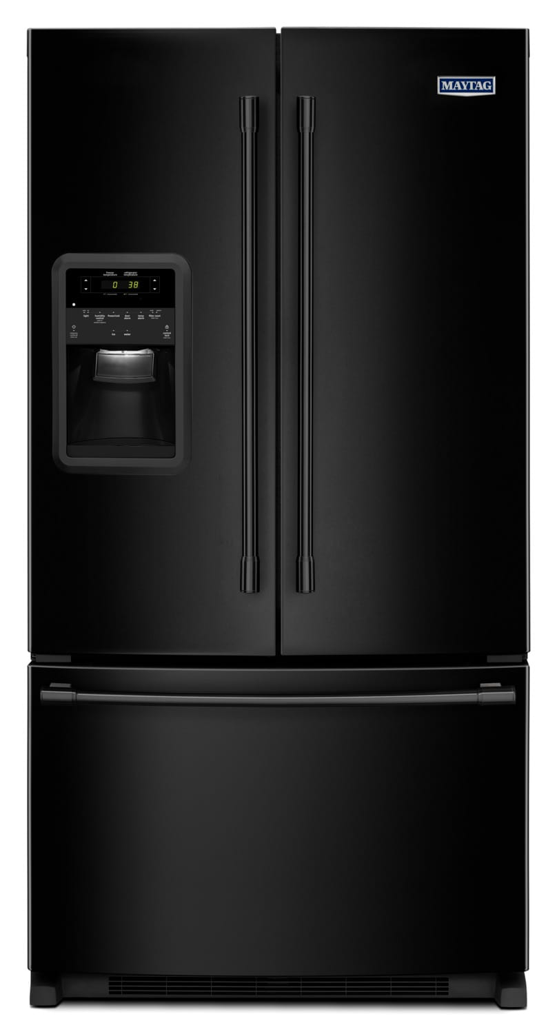 Maytag Black French Door Refrigerator 217 Cu Ft