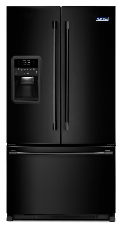 Maytag Black French Door Refrigerator (21.7 Cu. Ft.) - MFI2269FRB