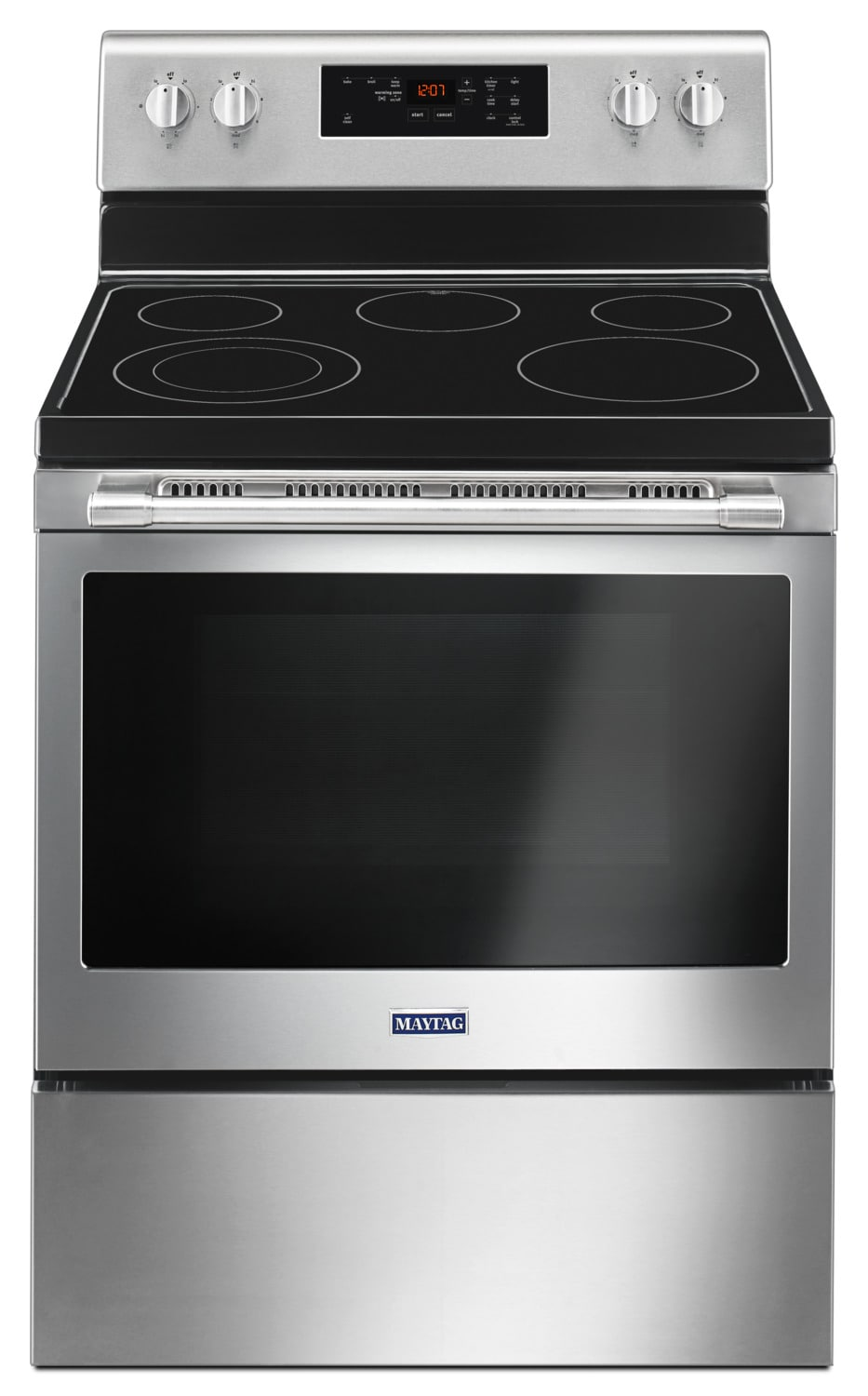 Maytag Stainless Steel Freestanding Electric Range (5.3 Cu. Ft.) - YMER6600FZ