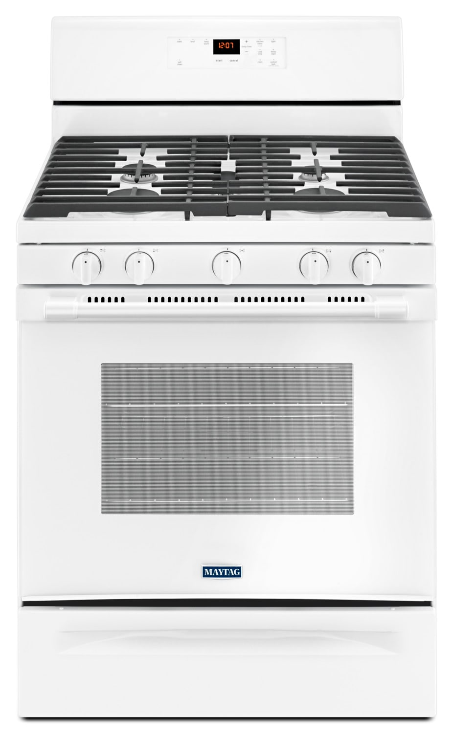 Maytag White Freestanding Gas Range (5.0 Cu. Ft.) - MGR6600FW