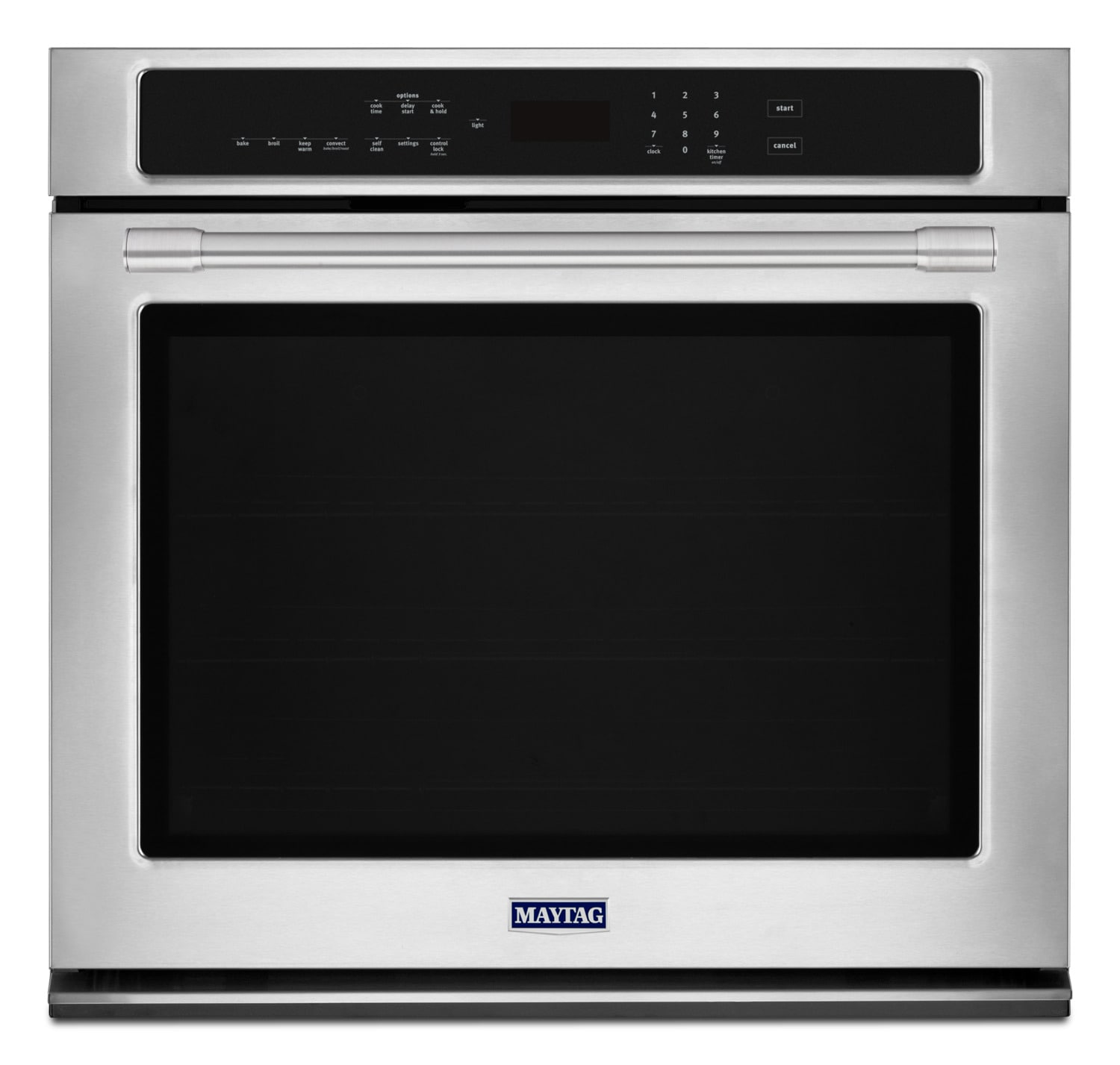 Maytag Stainless Steel Electric Convection Wall Oven (4.3 Cu. Ft.) - MEW9527FZ