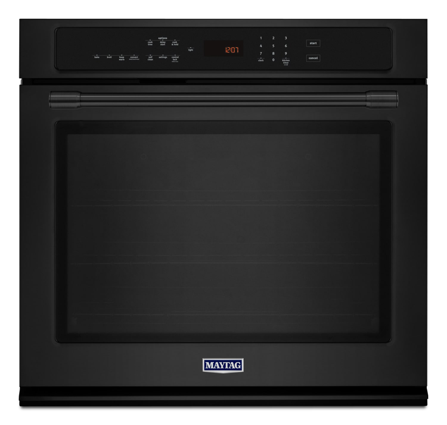 Maytag Black Electric Convection Oven (5.0 Cu. Ft.) - MEW9530FB